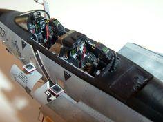 "F-14B ""Santa Cat"" 1/48 Scale Model"