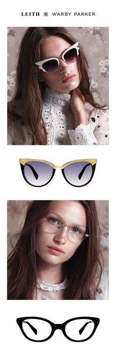 We've partnered again with the inimitable stylist and editor Leith Clark on a new ladylike line of glasses and sunglasses. Just sublime.