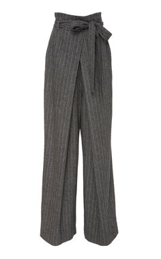 Freddie Pinstripe Trouser by ULLA JOHNSON for Preorder on Moda Operandi