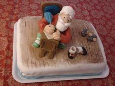 Babbo Natale a Lavoro - http://tortedecorate.eu/babbo-natale-lavoro/