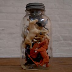 Jar Of Horses, now featured on Fab.