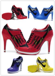 Nike High Heeled Shoes, I would wear these with jeans, or a jersey dress
