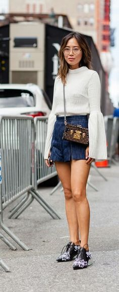 Fall street style, love the shoes