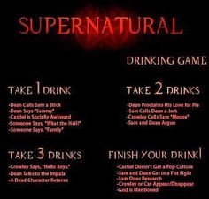 The Ultimate 'Supernatural' Drinking Game with Demon-inspired Cocktails