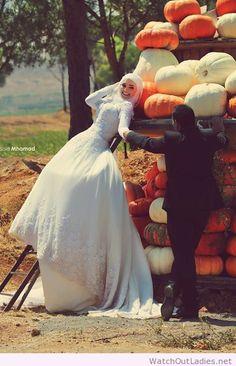 Lovely wedding makeup