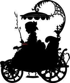 Victorian Carriage Lady Cross Stitch Chart now at www.crossstitchchartheaven.co.uk #crafts #xstitch #victorian