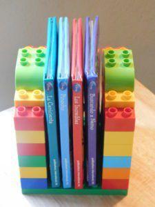 Mini librero con LEGO Duplo