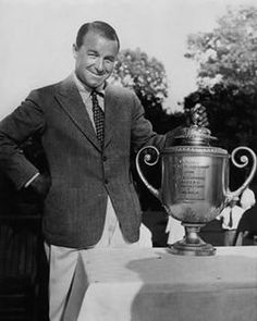 Gene Sarazen February 27, 1902 – May 13, 1999) was an American professional golfer, one of the world's top players in the 1920s and 1930s. He is one of five golfers to win all the current major championships in his career, the Career Grand Slam: U.S. Open in 1922, 1932, PGA Championship in 1922, 1923, 1933, British Open in 1932, and The Masters in 1935.