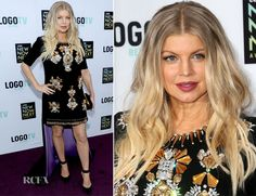 Fergie In Fausto Puglisi – 2013 NewNowNext Awards