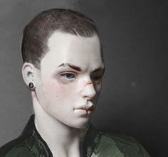 Luca, concept art. Russian bjd, YukiDoll.