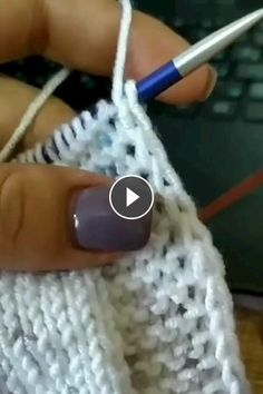 knitting hacks,knitting tips,knitting beginners,knitting basics Knitting Videos, Knitting Stitches, Knitting Patterns Free, Knitting Yarn, Free Knitting, Baby Knitting, Crochet Patterns, Knitting Tutorials, Knitting Charts