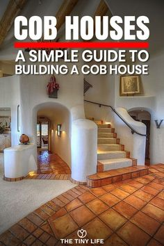 Cob Houses: A Simple Guide To Building Cob Houses - - Cob houses are an amazing way to build a house. In this simple guide I break down everything you need to know about building a beautiful cob home. Cob Building, Green Building, Building A House, Building Ideas, Cob House Interior, Cob House Plans, Tyni House, Earthship Home, Diy Exterior