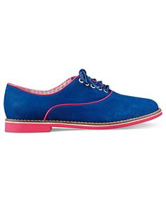 Thinking about it ;) Tommy Hilfiger Shoes, Bahia Oxford Flats - All Womens Shoes - Shoes - Macys