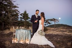 Mermaid Inspired Wedding Styled Shoot | B. Jones Photography | Manette Gracie Events | Bella Fiori Floral Design | Reverie Gallery Wedding Blog