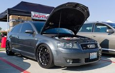 A3 hatchback at Audi Expo