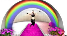 p - Twinity Pictures Virtual World, Rainbows, 3d, Pictures, Photos, Rainbow, Grimm