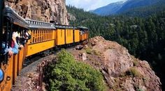 Durango & Silverton Narrow Gauge Railroad. The San Juan Skyway covers 236 miles of terrain across the beautiful Southwest corner of Colorado. Starting in Durango, the skyway travels in a loop passing through Cortez, Dolores, Rico, Telluride, Ridgway, Ouray, and Silverton. Travel over high mountain passes, historian mining towns, and through the heart of 5 million acres of both the San Juan and Uncompahgre National Forests.
