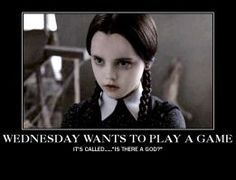 Wednesday Addams Meme Funny : Https: www.google.co.uk search?q=wednesday addams quotes little