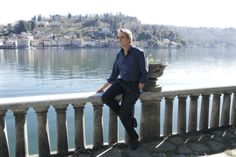 La magia del Lago d'Orta nell'ultimo film di Tornatore#Jeremy Irons#Giuseppe Tornatore#