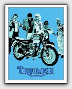 triumph advert 1960s - Google Search