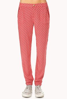 What? We can wear Rayon again? Loving the jogger pant trend