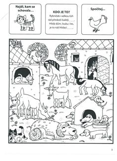 Kids Learning Activities, Baby Time, Teaching English, Farm Animals, Kids And Parenting, Coloring Pages, Kindergarten, Homeschool, Comics
