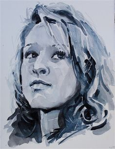 Want to paint beautiful portraits in color? DO NOT DO IT! Not until you have lots (and I mean LOTS) of experience painting port...