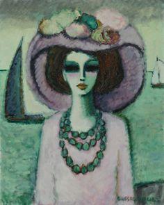 Jean-Pierre Cassigneul: Devant la Mer (1969) via Sotheby's