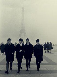 The Beatles take Paris