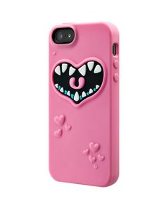 SwitchEasy Pinky (Pink) Monsters Silicone Case for Apple iPhone 5 ea7794c2a045d