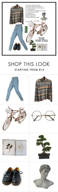 """""""my heart, my god, is full of stars."""" by rubyatarah ❤ liked on Polyvore featuring Doncaster, FOSSIL, Nearly Natural and Dr. Martens"""