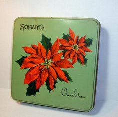 Vintage Schrafft's Chocolate Tin by antiquesgaloregal, via Flickr