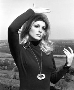 "Sharon Tate - ""Eye of the Devil""  -  she's really good in this and she looks gorgeous!"