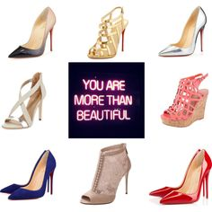 World Domination by jenn-phillip on Polyvore featuring polyvore fashion style Dolce&Gabbana Christian Louboutin BCBGMAXAZRIA Charles by Charles David GALA