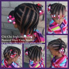Hairstyle for children