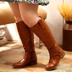 Take a look at the Find Your Way in Wide-Calf Boots event on zulily today!