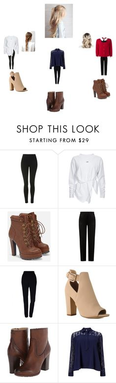 """""""Untitled #279"""" by geor6900 on Polyvore featuring Topshop, JustFab, Alberta Ferretti, Plakinger, Frye, Lipsy and Gucci"""