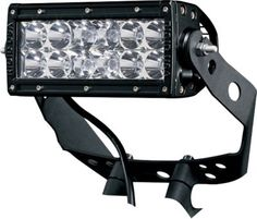"""Lighting up the trail has never been easier thanks to Rigid Industries' Universal ATV Light Brackets.  Available:  Dually, 6"""", 10""""."""