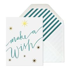 Make A Wish Stars Birthday Card