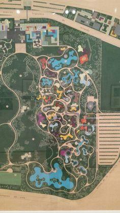 Parque del Este, Caracas by Roberto Burle Marx.