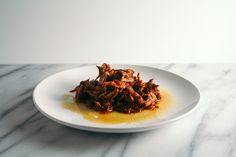 Slow Cooker Barbecue Pulled Pork Recipe | Yummly