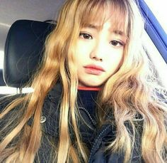 Best Hairstyles Korean Girl Ideas – - New Sites Blonde Hair Korean, Korean Bangs, Blonde Hair With Bangs, Blonde Asian, Korean Face, Cute Korean, Korean Girl, Asian Girl, Different Hairstyles