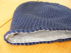 Everyday Art: Crocheted Beanie with Lining