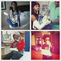Ray Ray, Roc Royal, Princeton all broke there arm !