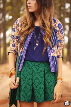 Look du jour: Someday you will be loved Fast Fashion, Pop Fashion, Girl Fashion, Fashion Outfits, Fashion Design, Fashion Trends, Colourful Outfits, Colorful Fashion, Mélanger Les Impressions