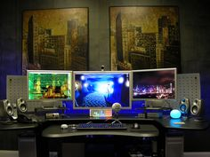 All sizes | Home Office primary workstation | Flickr - Photo Sharing!