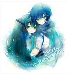 Miku and Kaito ♥