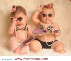 The one on the right reminds me of my sister as a baby lololol