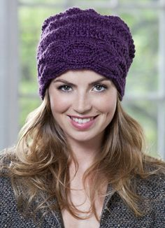 Crochet Cabled Box Hat