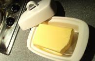 využití másla v domácnosti